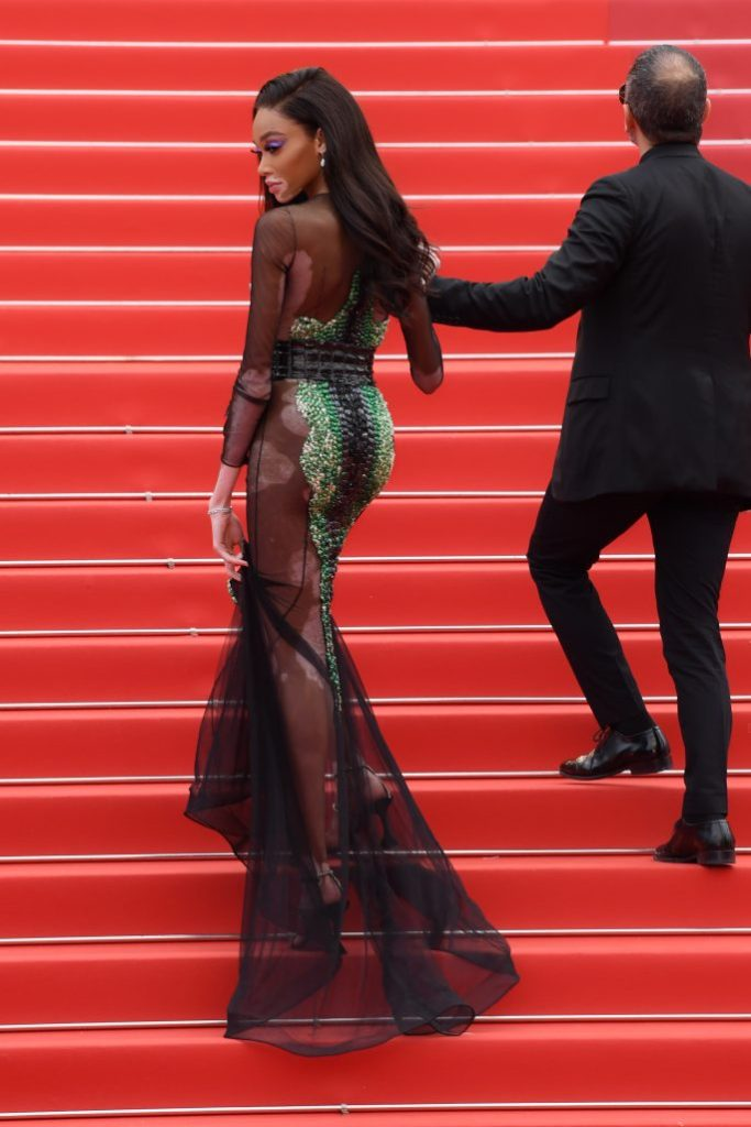 Winnie Harlow'Oh Mercy!' premiere, 72nd Cannes Film Festival, France - 22 May 2019Wearing Ralph and Russo same outfit as catwalk model *10068396bb