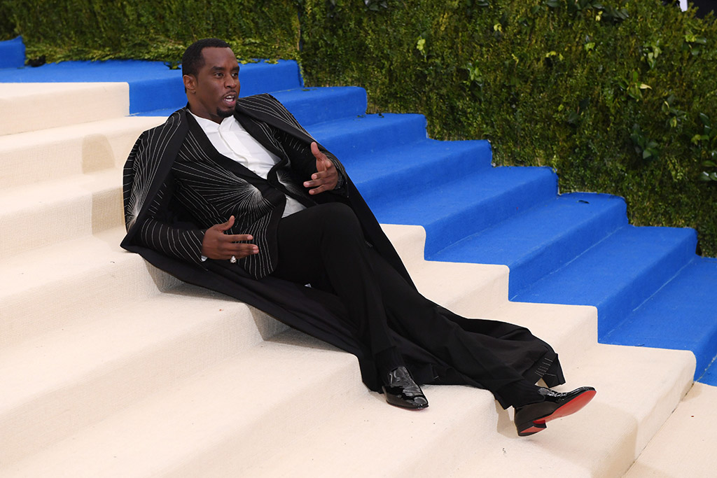 sean diddy combs christian louboutin