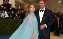 Jennifer Lopez and Alex Rodriguez met
