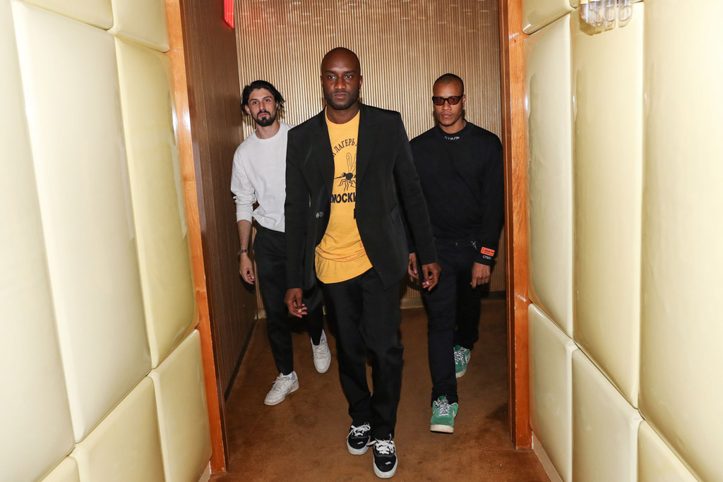 Virgil Abloh, Heron PrestonThe Costume Institute Benefit, Katy Perry hosts The Boom Boom Afterparty, The Standard, New York, USA - 02 May 2017