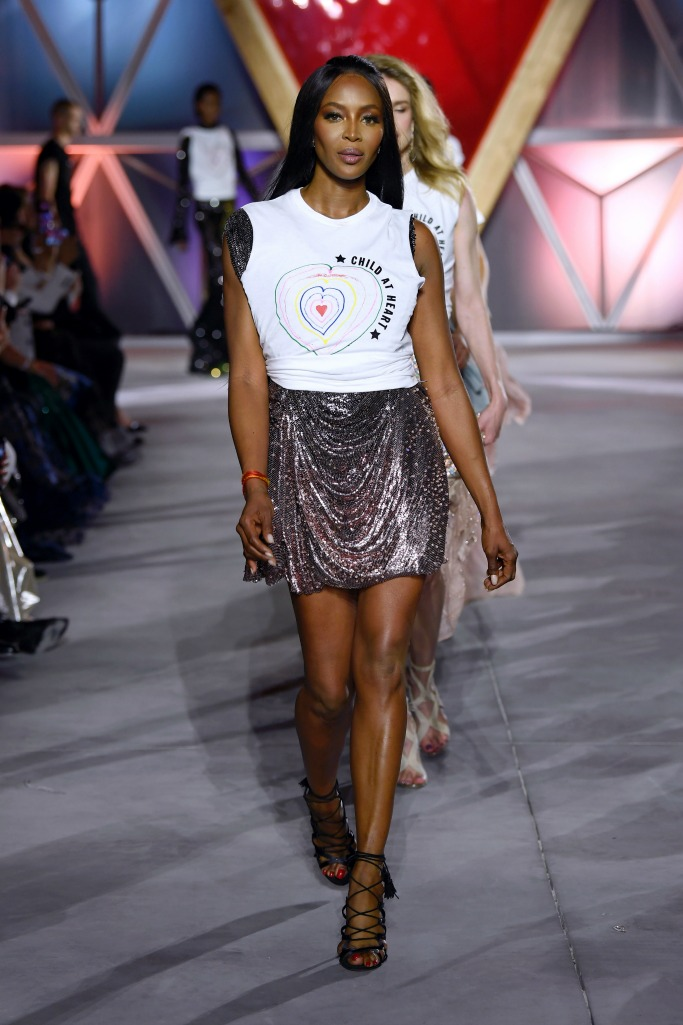 naomi campbell fashion for relief