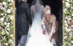 Kate Middleton at Pippa Middleton's 2017 Wedding