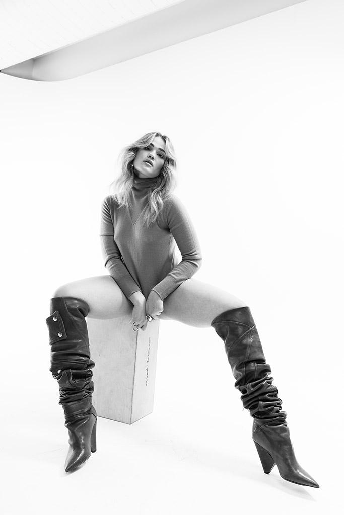 Saint Laurent Slouch boots