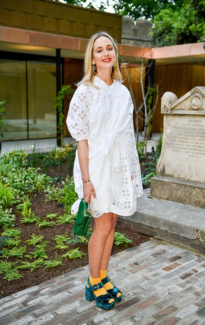 Elisabeth von Thurn und Taxis, Vogue editor at large socks with sandals.
