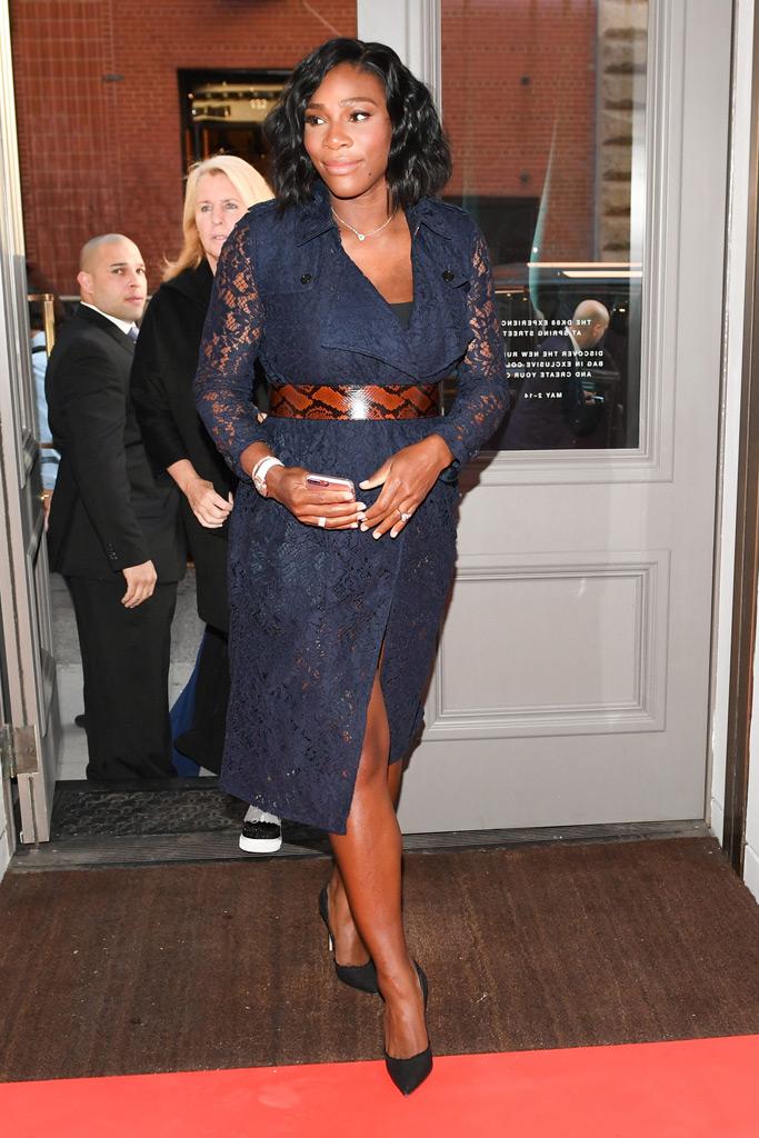 Serena Williams Maternity Fashion