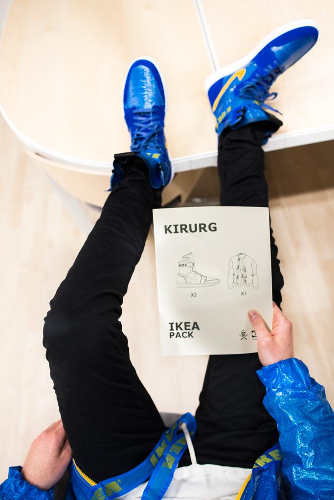The Shoe Surgeon Elliott Evan Ikea Pack