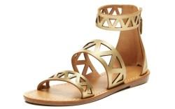 Soludos Laser-Cut Banded Sandal