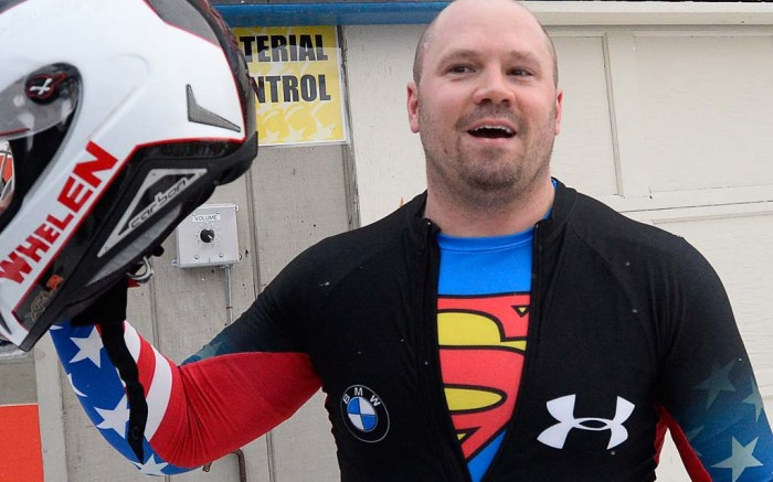 Olympic medalist Steven Holcomb dead under armour