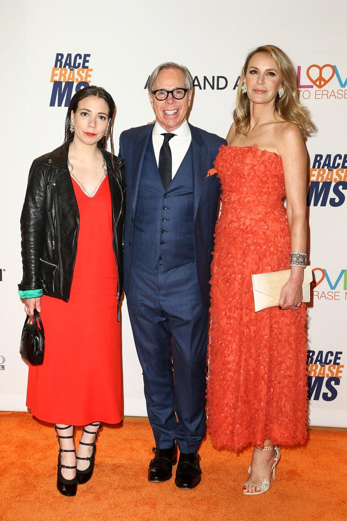 Elizabeth Hilfiger, Tommy Hilfiger, Dee Ocleppo race to Erase MS gala 2017