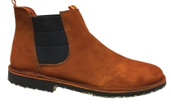 Brown suedechelsea boot from Tony Pons