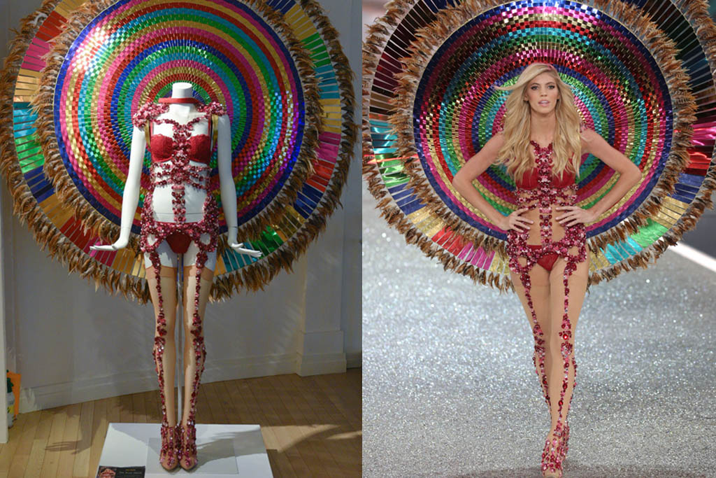 Victoria's Secret museum angels lingerie fashion show 2016 paris exhibit bra shoes