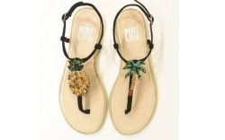 Pineapple/Tropical Fruit Shoe Trend