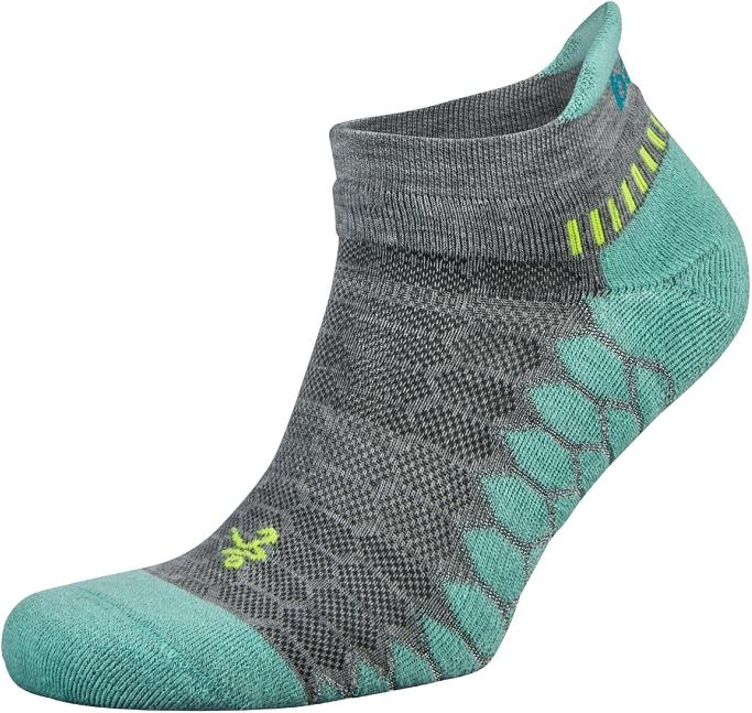 Balega Silver No-Show Compression-Fit Running Socks, running socks