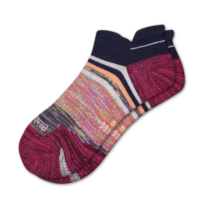 Bombas Space Dye Running Ankle Tab Socks, running socks
