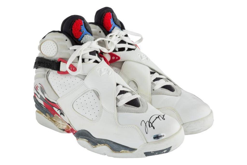 Air Jordan 8 Game Worn
