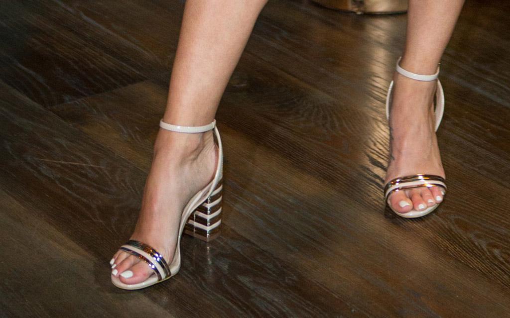cara santana, aldo shoes, izabela sandals