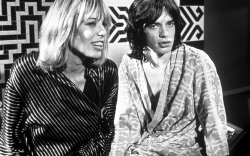 The Rolling Stones Anita Pallenberg and