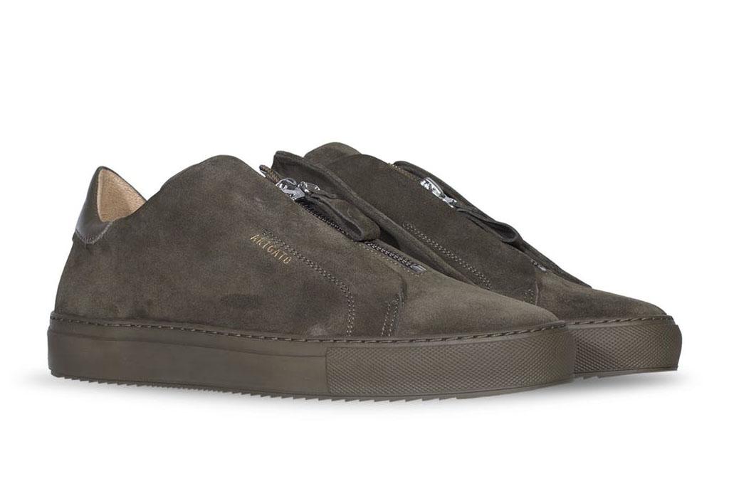 Axel Arigato Handmade Zip-Up Sneakers