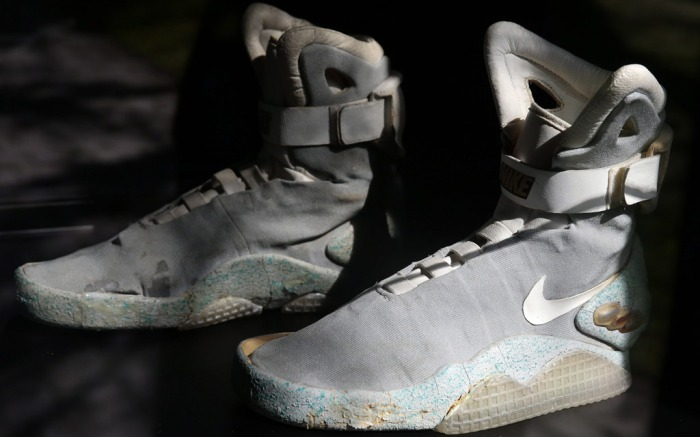 Instantly Digestive organ Earn  Back to the Future' Inspired Sneakers Sell for a Record $50K – Footwear News