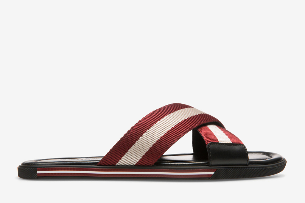 bally crisscross sandal