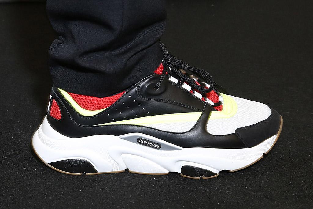 Sneakers From Men's Paris Fashion Week