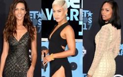 celebrities, red carpet, 2017, bet awards,