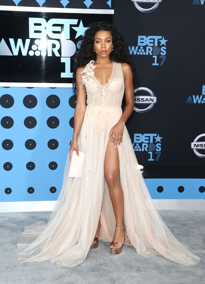 bet awards, 2017, red carpet, dress, shoes, fashion, style, lil mama