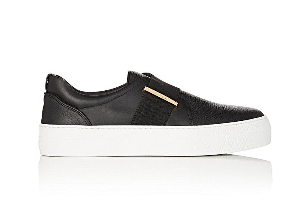 Buscemi 40MM Band Leather Sneakers