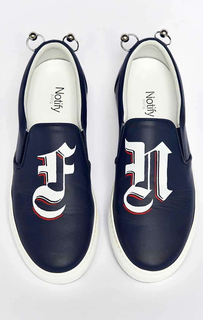 Footwear News customized sneakers.