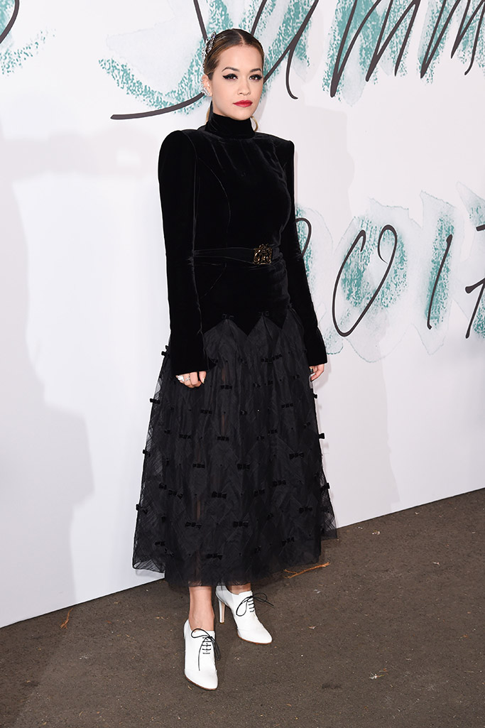 Rita Ora wears Chanel at The Summer Party presented by Serpentine Galleries and Chanel