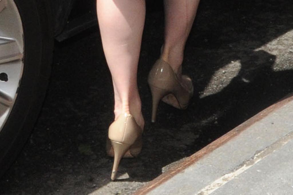 Chelsea Clinton Nude Pumps