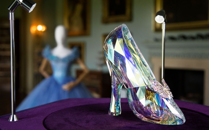 Cinderella's Ball Gown and Glass Slipper