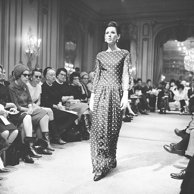 couture, James Galanos, runway
