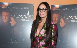 Demi Moore at the 'Blind' film