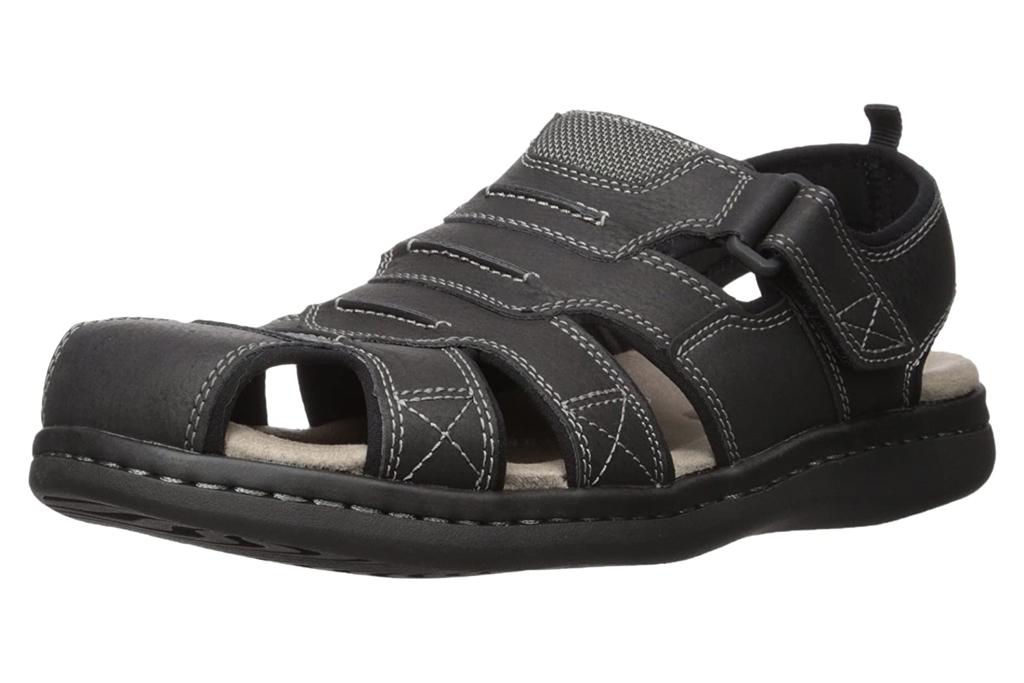 dockers, slides, sandals