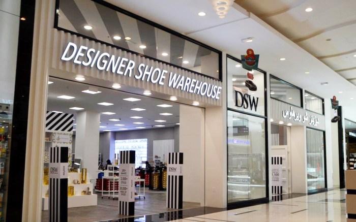 DSW Oman store
