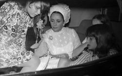 Liza Todd, Maria, Kate Burton, children