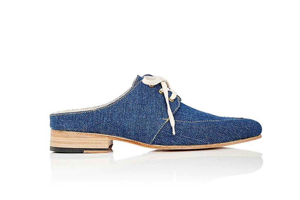 esquivel denim shoe