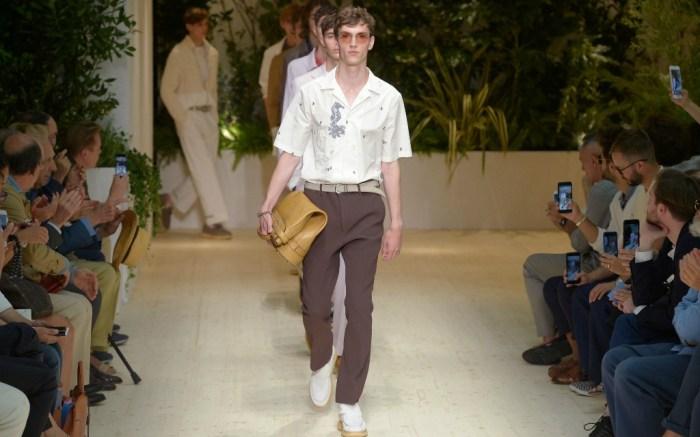 Salvatore Ferragamo spring '18 collection, milan men's fashion week