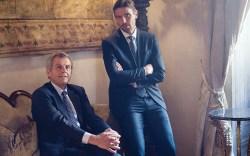 James and Ferruccio Ferragamo at the