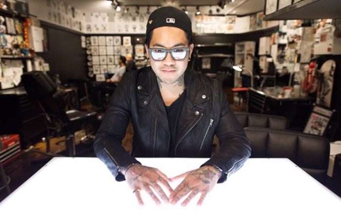 Celebrity tattoo artist JonBoy