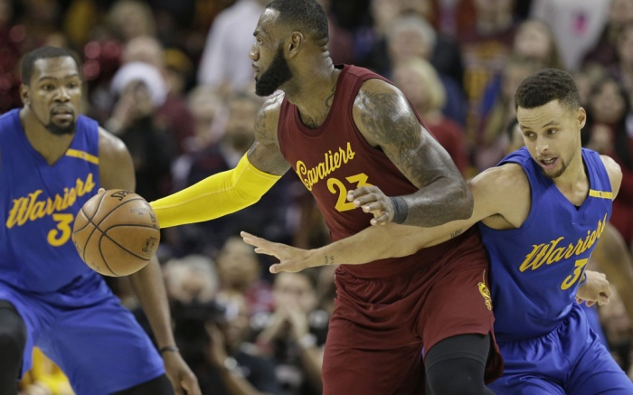 Kevin Durant Stephen Curry LeBron James