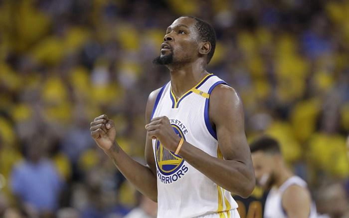 2017 NBA champion Kevin Durant
