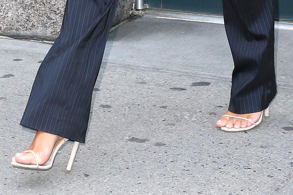 Kim Kardashian West Style Yeezy Heels