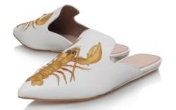 Lobster-adorned shoes for National Lobster Day