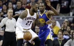 LeBron James Kevin Durant NBA Finals