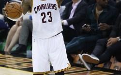 LeBron James On-Court Shoe Style