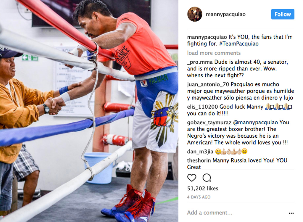 Manny Pacquiao Anta boxing boots