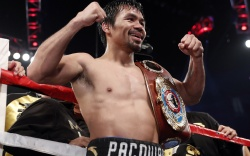 Former Nike Athlete Manny Pacquiao Gets