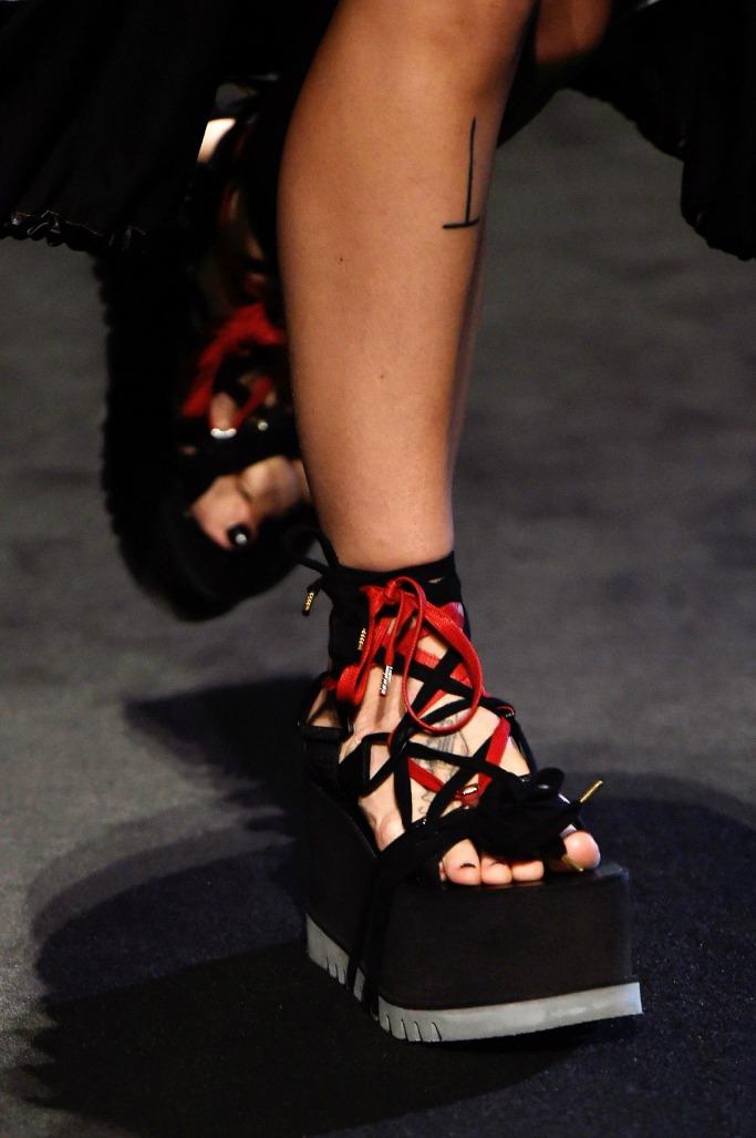 Marcelo Burlon spring '18 collection, milan men's fashion week